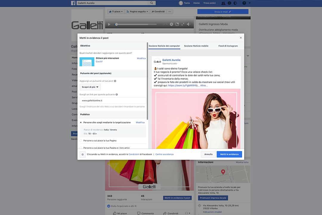 Guida pratica per negozianti: la pubblicità su Facebook